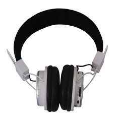 Amaya Q8-851S FM Stereo radio/Headphones Collapsible Headset white