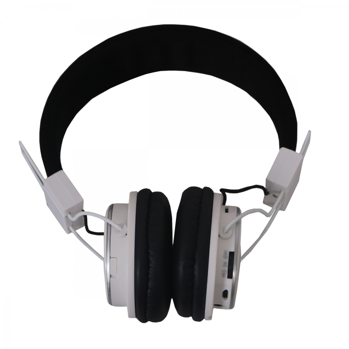 Amaya Q8-851S FM Stereo radio/Headphones Collapsible Headset white