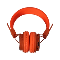 Amaya Q8-851S FM Stereo radio/Headphones Collapsible Headset orange
