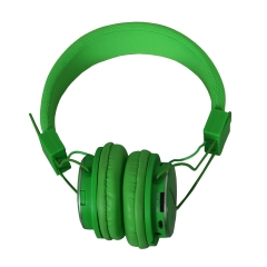 Amaya Q8-851S FM Stereo radio/Headphones Collapsible Headset green