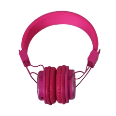 Amaya Q8-851S FM Stereo radio/Headphones Collapsible Headset pink