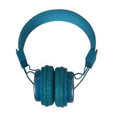 Amaya Q8-851S FM Stereo radio/Headphones Collapsible Headset blue