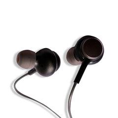 Amaya In-ear Earphones Super Clear Ear Buds Earphone Noise Isolating Earbud black
