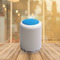 Amaya Night Light with Bluetooth Speaker Touch Control Color LED For Bedside Wireless Speaker blue one size