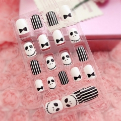24Pcs Fake Nails   False Nails   Nail Art Tips   DIY Manicure Kit Kit 5