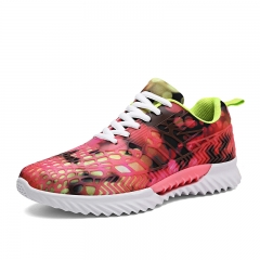 Super Light Women Athletic Shoes Soft Sole Sports Shoes Fashion Sneakers  for Running Jogging Red 39