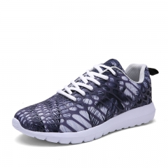2018 New Fashion Women's Breathable Athletic Shoes Comfortable Shiny Red Purple Couple Sports shoes grey 41