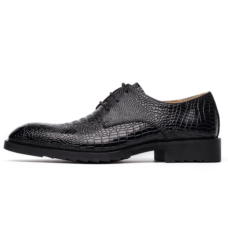 ... Business Formal Brogue Pointed Toe Carved Oxfords Wedding Shoes black  43 high quality real leather  Product No  1813816. Item specifics  Seller  SKU 205 ... f06de059a59a