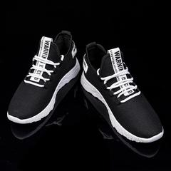Men's sports shoes fashion Sneakers gym running shoes Outdoor casual street style new summer male white 39