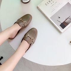 Women Shoes Women Slippers Ladies shoes Slip on durable fashion style Hot sale summer bronze 38