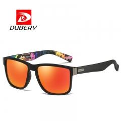 Mens Polarized Sport Sunglasses Outdoor Riding Fishing Summer Goggles Orange