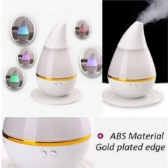 7 Colors LED Ultrasonic Aroma Humidifier Purifier Mist Maker Essential Oil Diffuser Pink one size