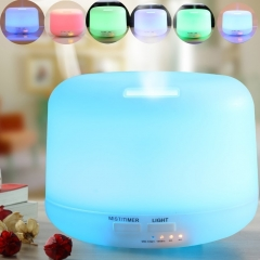 Aroma Essential Oil Diffuser,Ultrasonic Air Humidifier shut off for Yoga Bedroom white one size
