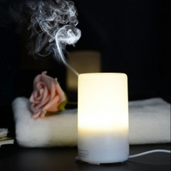 USB Essential Oil  Ultrasonic Humidifier Portable Aromatherapy Diffuser,Car Aroma Diffuser LED Light white one size