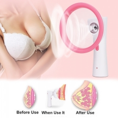 Women Electronic Breast Enlargement  Vacuum Chest Pump Cups Liposuction Massager Physics  Instrument as picture