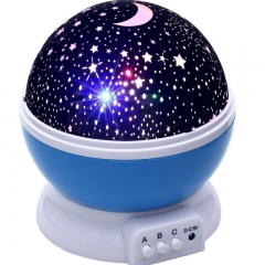 Colorful Cosmos Star Master Projector LED Light Lamp Part Ball Decoration  Sky Starry Novelty Kids Blue 13cm 36