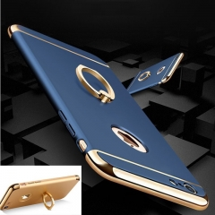 Shockproof Case Cover Ring Support Shell Case For Apple IPhone 6 6s 6plus 6splus 7 7plus Blue iphone6