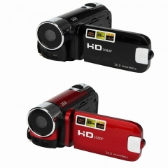 Christmas Gifts HD 1080P 16M 16X Digital Zoom Video Camcorder Camera DV Black one size