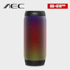 AEC BQ - 615 PRO Portable Wireless Bluetooth Speaker Blutooth Bicycle Sound Box FM Radio For Phone black one size