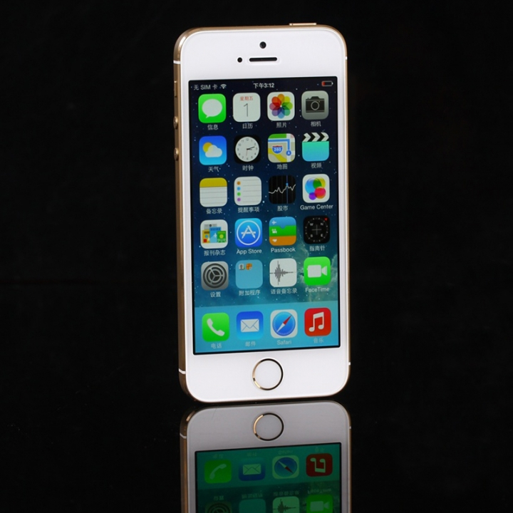 iPhone 5S -16GB+1GB -8 MP- 4 Inch mobile phones  smartphones gold