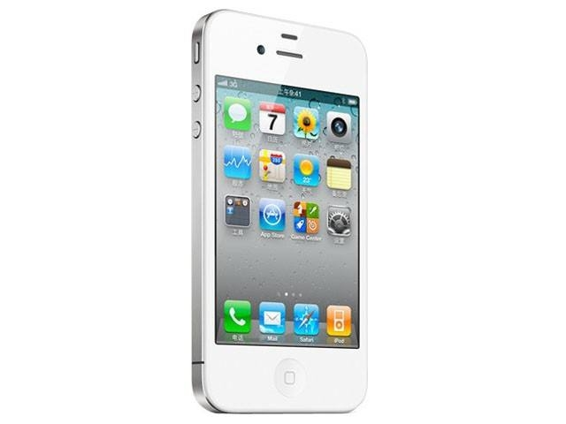 "smart phone new Apple iPhone 4S 16GB 3G WIFI GPS 8MP 1080P 3.5""IPS 960x640px smartphones white"