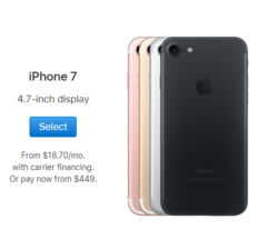 smart phones 32GB+2GB 12MP+7MP 4.7 inch apple mobile with fingerprint iphone7 locked smartphones gold