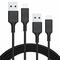 Available on iphone5/5S/6/6s date cable ,fast charging & save time,8X long service life USB black