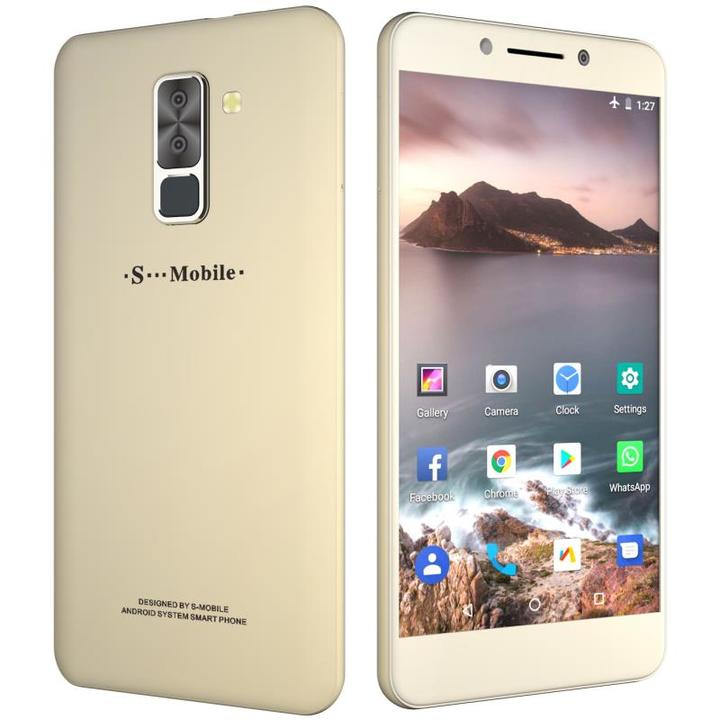 "Explosion-proof screen smart phone  X7 - 5.5"" - 1GB/16GB - 5MP/13MP Camera - 4G smartphones gold"