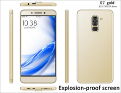 S-Mobile X7 Explosion-proof screen smart phone   - 5.5
