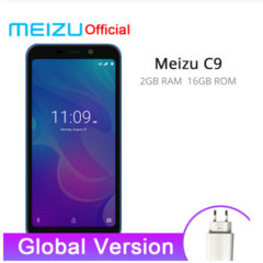 Meizu C9 2GB 16GB Smartphones Quad Core 5.45 inch 1440X720P Front 8MP /13MP Camera 3000mAh Battery black