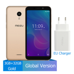 Meizu C9 Pro 3GB 32GB smart phones Quad Core 5.45'' Smartphone Front 13MP Rear 13MP 3000mAh Battery gold