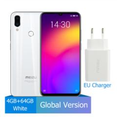 Meizu Note 9 4GB 64GB Smartphone Snapdragon 675 Octa Core  48MP Dual Camera AI Front 20MP 4000mAh white