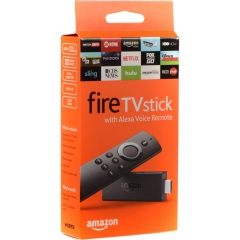 Fire Stick with Alexa Voice Remote - Streaming Media Player Device Black - 2018 Model