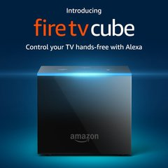 Fire TV Cube - Hands-Free with Alexa and 4K Ultra HD - Streaming Media Player