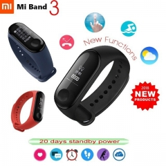 Xiaomi Mi Band 3 Band3 Smart Wristband Bracelet (Global Version) black one size
