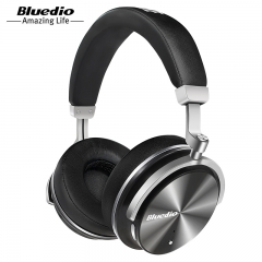 Bluedio T4 Active Noise Cancelling Wireless Bluetooth Headphones wireless Headset with microphone white
