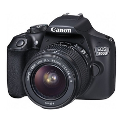 Canon EOS 1300D,Rebel T6 DSLR Wi-Fi Camera,17.9MP ;with 18-55mm III Lens,Contain Chinese Invoices