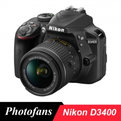 Nikon D3400 DSLR Camera -24.2MP -Video -Bluetooth,contian China invoices