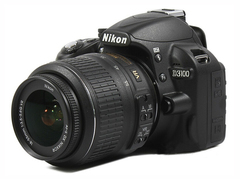 Nikon D3100 DSLR Camera with 18-55mm Lens Household Package 99% New Used