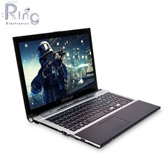 15.6inch intel core i7 8gb ram 500gb HDD 1920x1080 full hd screen PC Laptop Computer black one size