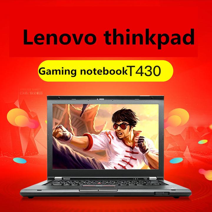 Refurbished Lenovo Thinkpad T430 14inches I5 3320u i7-3520U 4G/8G RAM 1366*768 LED Laptop i5 4g ram 320g hdd .