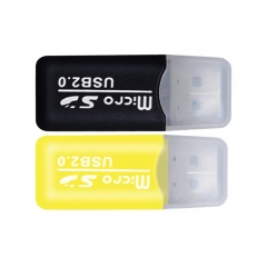 Memory card reader green one size