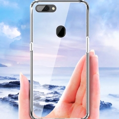 Transparent mobile phone protection cover transparent