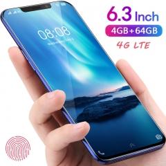 New mobile Phone 2018 4G+64G 21MP+8MP 5800mAh Fingerprint unlocking  VIVK x20s Red Blue Dual sim red