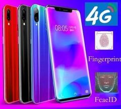 New phone 6.3inch 4G+64G 16MP+8MP 4G LTE Face&Fingerprint unlocking VIVK x20s Dual SIM smartphone blue