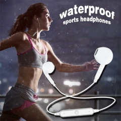 Sport 4.2Bluetooth Earphone Wireless Headphone Bluetooth Headphone Universal Bluetooth Headset black white