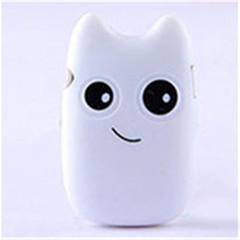 MINI Cute Cartoon Portable MP3 Player White 1