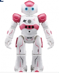 intelligent remote control robot  dancing singing  multi-functionelectric and electronic toys pink one size