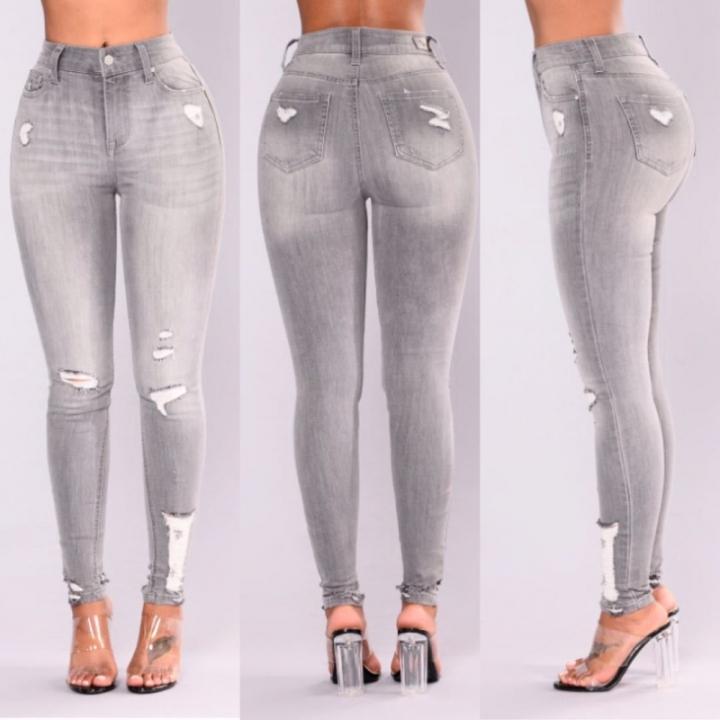 8d20d2efabdb1 BTD Plus Size S-3XL Jeans Elastic Long Denim Trousers High Waist Pencil  Legging Women