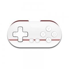 8Bitdo Zero Mini Wireless Bluetooth Game Controller Gamepad Joystick Selfie Red&White
